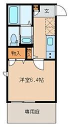 base 38II[1階]の間取り