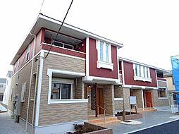 東京都青梅市谷野の賃貸アパートの外観