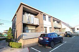 福岡県福津市宮司浜3丁目の賃貸アパートの外観
