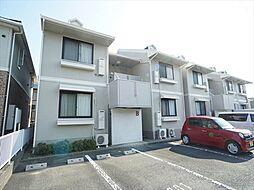 上島セジュールB[1階]の外観