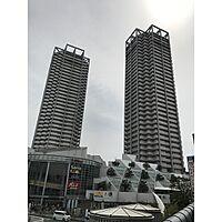 外観(平成6年築。SRC造、地上36階建。)
