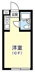 カスティル渋谷[3階]の間取り