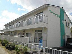 愛知県安城市浜屋町屋敷山の賃貸アパートの外観