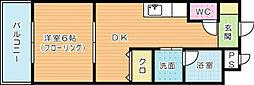 KN21白銀[4階]の間取り