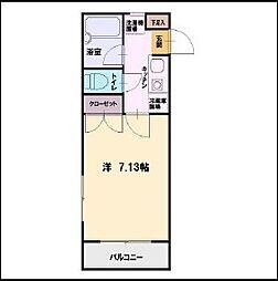 カサレリア湘南[2階]の間取り