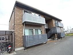 兵庫県姫路市玉手3丁目の賃貸アパートの外観