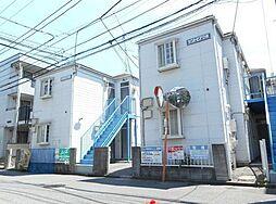 千葉県船橋市本中山5丁目の賃貸アパートの外観