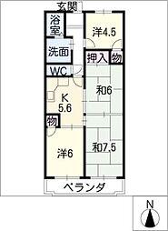 アルト千種[3階]の間取り