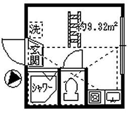 フェリスプリンス[2階]の間取り