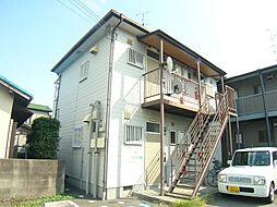 西田レジデンスA棟[201号室]の外観
