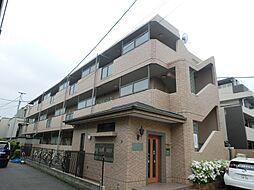 東京都調布市飛田給1丁目の賃貸マンションの外観