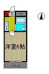 前川ヒルズ[1階]の間取り