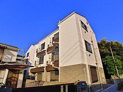 東京都足立区扇2丁目の賃貸アパートの外観