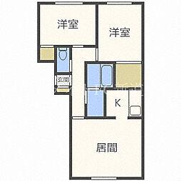 Leben・N45[3階]の間取り