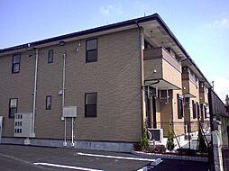 愛知県豊川市大崎町小林の賃貸アパートの外観