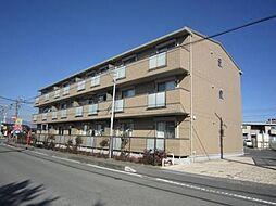 静岡県御殿場市新橋の賃貸アパートの外観