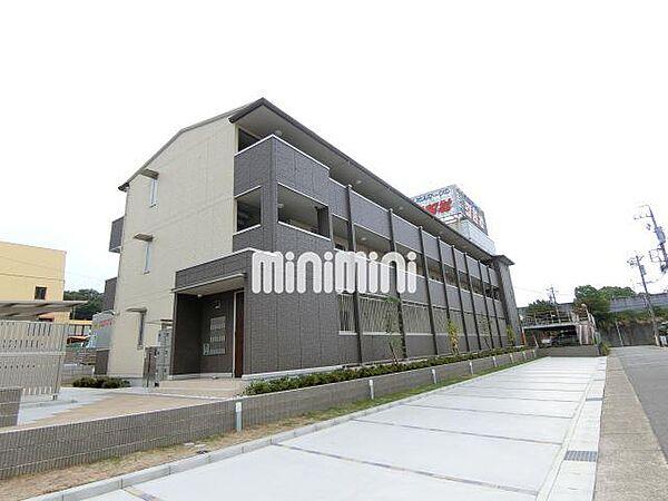 愛知県名古屋市名東区小井堀町の賃貸アパートの外観