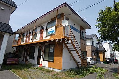 外観,1DK,面積21.06m2,賃料3.0万円,バス くしろバス川北8番地下車 徒歩3分,,北海道釧路市川北町