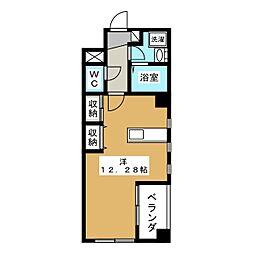 マロニエ・エコーハイツ[4階]の間取り