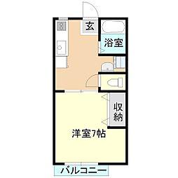 マイステージ17番館A[2階]の間取り