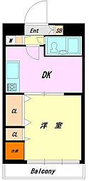 東京都豊島区南大塚1丁目の賃貸マンションの間取り