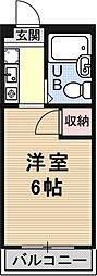 ソレイユヤマダ[203号室号室]の間取り