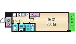 プレサンス玉造ザ・ライブ[6階]の間取り