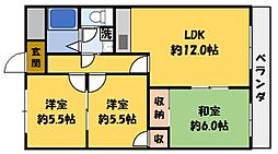 マンション東神田[1階]の間取り