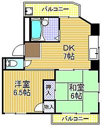 メゾンK[4階]の間取り