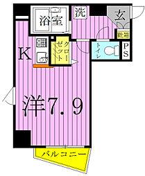 G−クレスト[603号室]の間取り