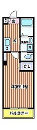 brillar(ブリジャール)[2階]の間取り