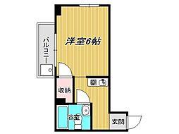 兵庫県神戸市垂水区星陵台4丁目の賃貸マンションの間取り