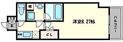ミヤレジデンス新町[4階]の間取り