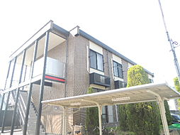 大阪府八尾市明美町2丁目の賃貸アパートの外観