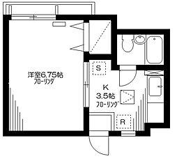 プチメゾンSHIRAKABA[2階]の間取り