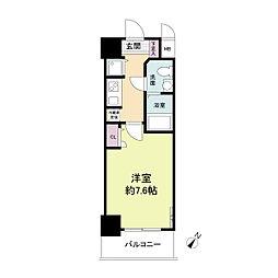 S-RESIDENCE神戸磯上通[0204号室]の間取り