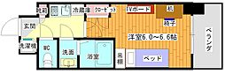(仮)豊津駅前学生会館 1階1Kの間取り