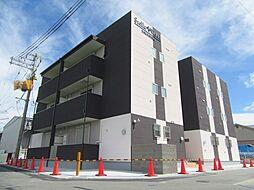 大阪府羽曳野市伊賀1丁目の賃貸アパートの外観