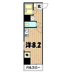 Wing横浜[401号室]の間取り