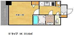 ファステート神戸アモーレ[3階]の間取り