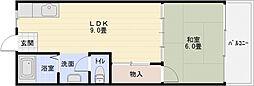 山下マンション[5階]の間取り