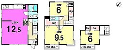 [一戸建] 東京都江戸川区東小岩4丁目 の賃貸【東京都 / 江戸川区】の間取り