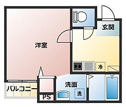 YKハウス[1階]の間取り