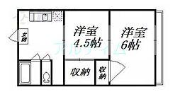 椥辻駅 2.8万円