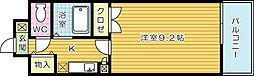三栄ビル[202号室]の間取り