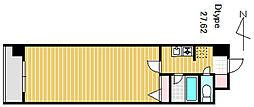LIBERTY[506号室]の間取り