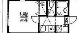 Mパレス3[2階]の間取り