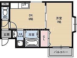 セヴェルイマヅ[7階]の間取り