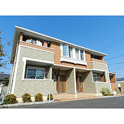 滋賀県近江八幡市中村町の賃貸アパートの外観