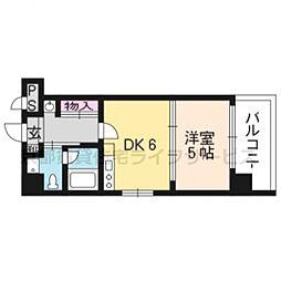 G−stage京都油小路[306号室]の間取り